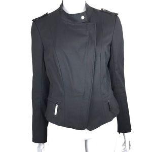 Sandra Angelozzi Designer Black Motto Blazer